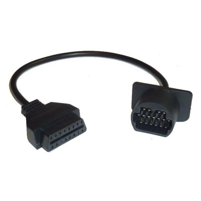 gahatronic adapter obd2 auf 17 pin mazda toyota obd stecker. Black Bedroom Furniture Sets. Home Design Ideas