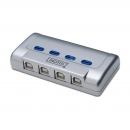 4 Port USB 2.0 Sharing Switch Verteiler Umschalter 4 PC
